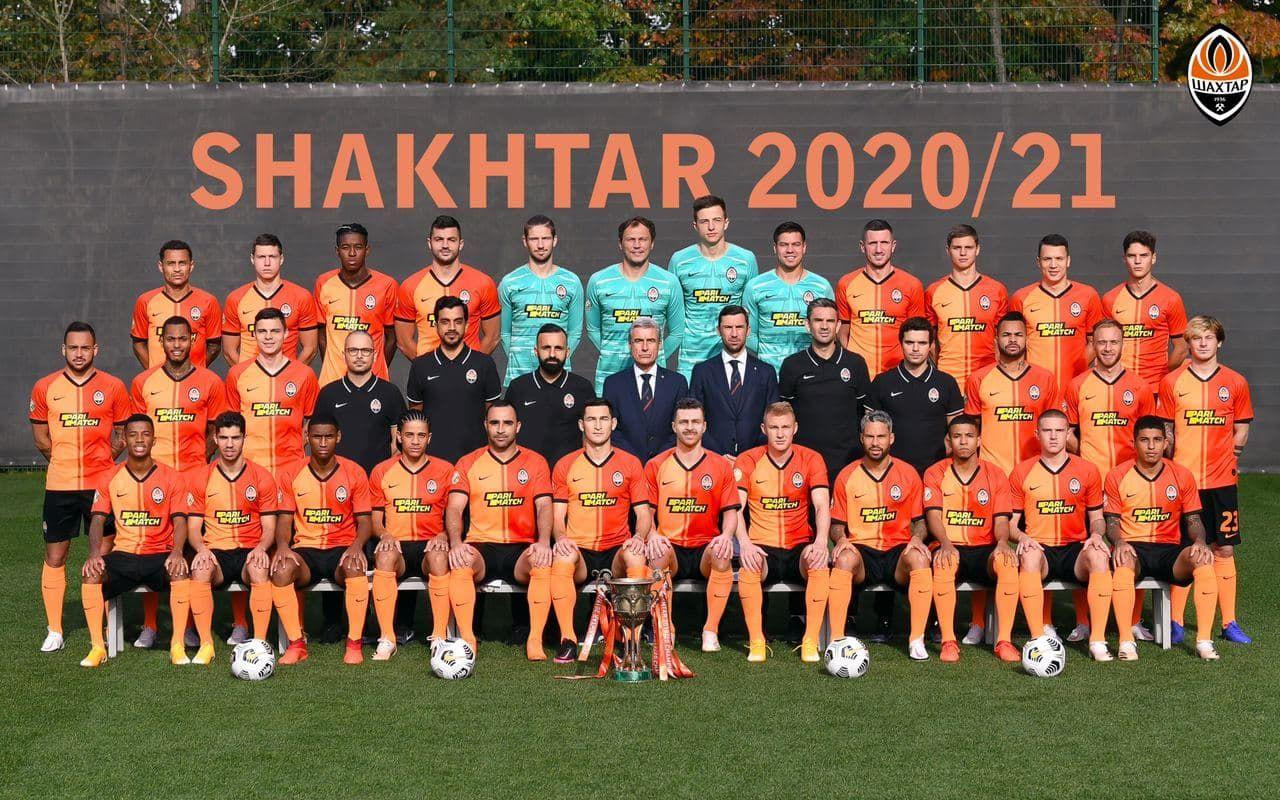 Прифотошопили. Шахтер опубликовал официальное фото команды с Мораесом - изображение 2