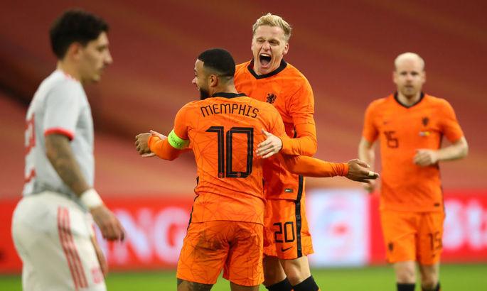 Нидерланды - Испания 1:1. Видео голов и обзор матча