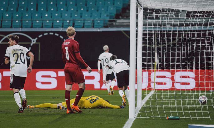 Германия - Чехия 1:0. Видео обзор матча