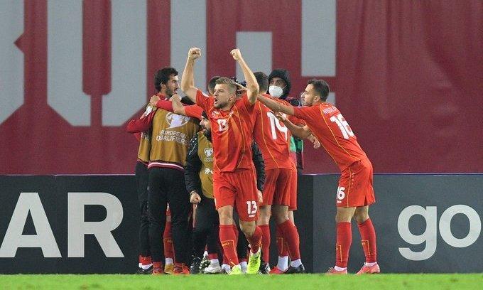 Исторический гол Пандева. Грузия - Северная Македония 0:1. Видео гола и обзор матча