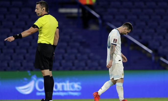 Месси забил гол за Аргентину, но VAR отменил и подарил Парагваю ничью - ВИДЕО