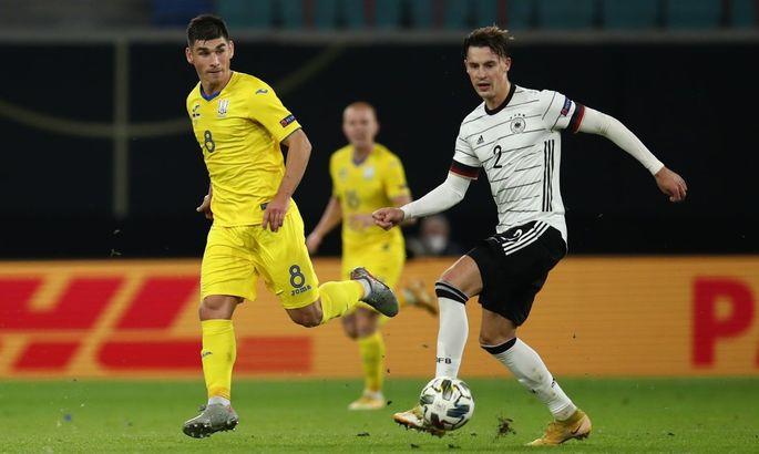 Германия - Украина 3:1. Обзор матча и видео голов