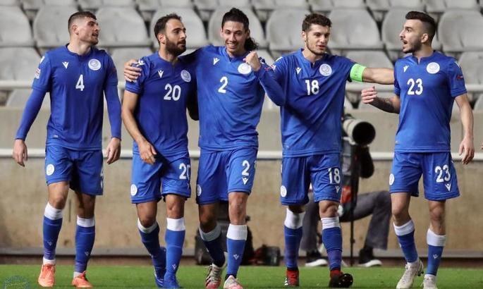 Люксембург проиграл Кипру и потерял шанс возглавить группу. ВИДЕО