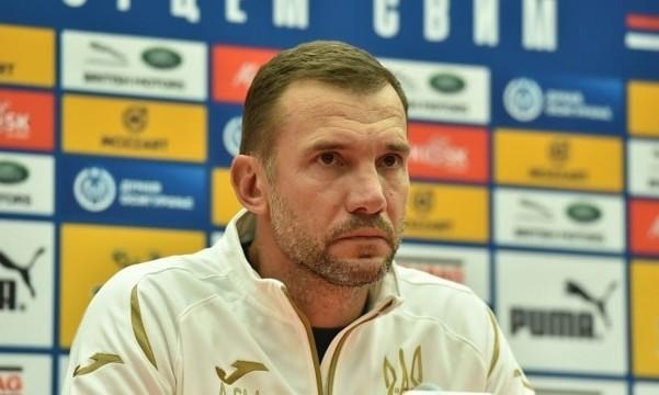 Андрей Шевченко: Украина ни разу не сыграла основным составом, кроме Швейцарии