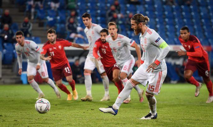 ЛН. Швейцария - Испания 1:1. Украина - в зоне досягаемости, или Когда Рамос не решает