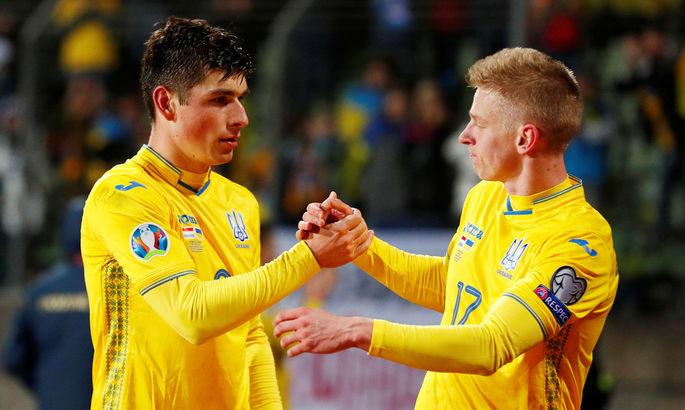 Два полузащитника сборной Украины получили повреждения в матче с Германией