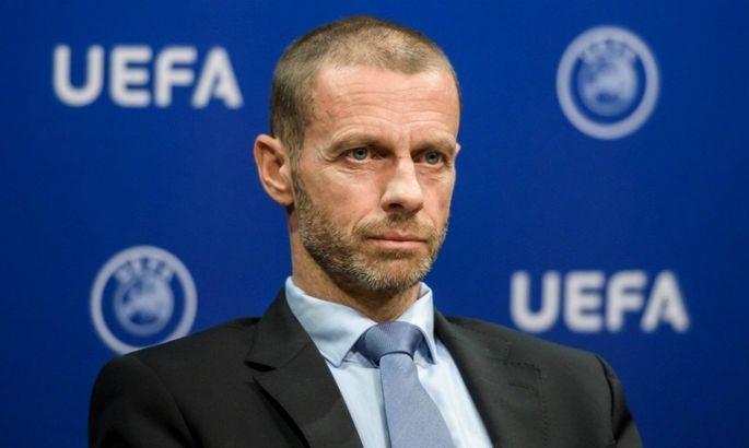 Чеферин: Игрокам Суперлиги будет запрещено играть на чемпионатах мира и Евро
