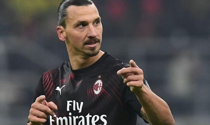 Переваливая за отметку в 40 лет: Ибрагимович может продлить контракт с Миланом ради ЛЧ