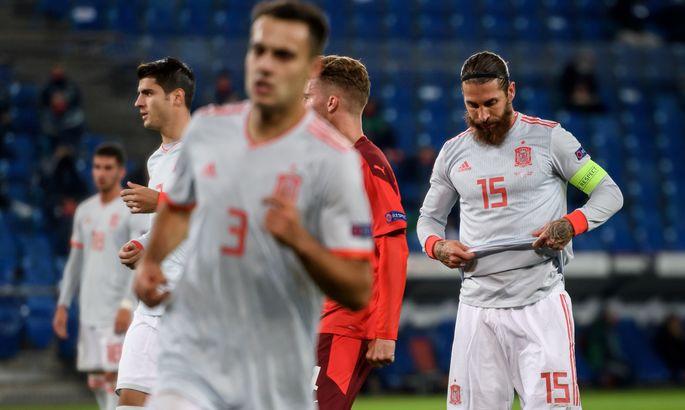 Нервотрепка имени... Рамоса. Виновен ли капитан сборной Испании в вероятных проблемах Украины в Лиге наций?