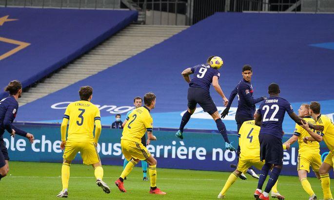 Франция - Швеция 4:2. Шоу Тюрама, возвращение Мбаппе и вылет скандинавов