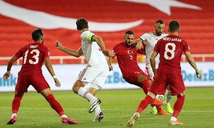 Ліга Націй. Угорщина переграє Туреччину, обходить Росію, і підвищується в класі