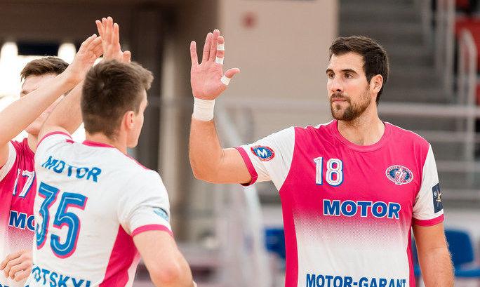 Мотор обыграл Загреб в Лиге чемпионов
