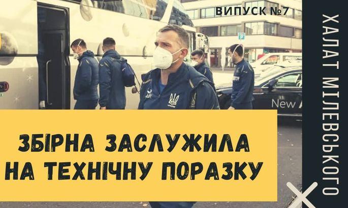 Що чекає на Україну - технічна поразка або перенесення матчу? Відеоподкаст Халат Мілевського #7