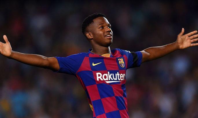 Новая десятка Барселоны может вернуться на поле уже в следующем матче Ла Лиги