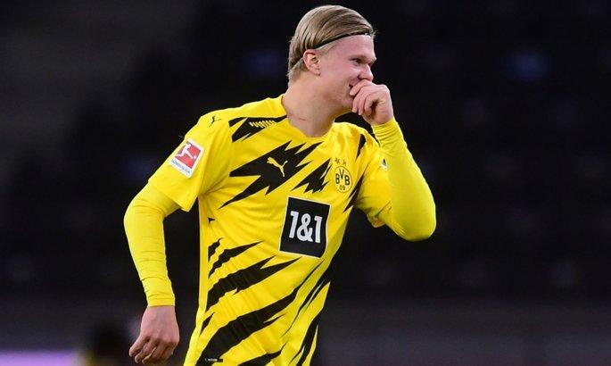 Герта - Боруссия 2:5. Golden Boy-2020 забил четыре гола за 30 минут и принес Дортмунду победу