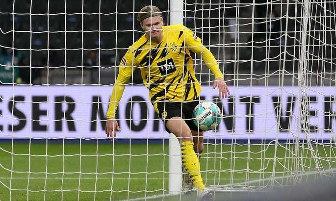 Фавр сбился со счёта, пытаясь сосчитать количество голов Холанда в ворота Герты