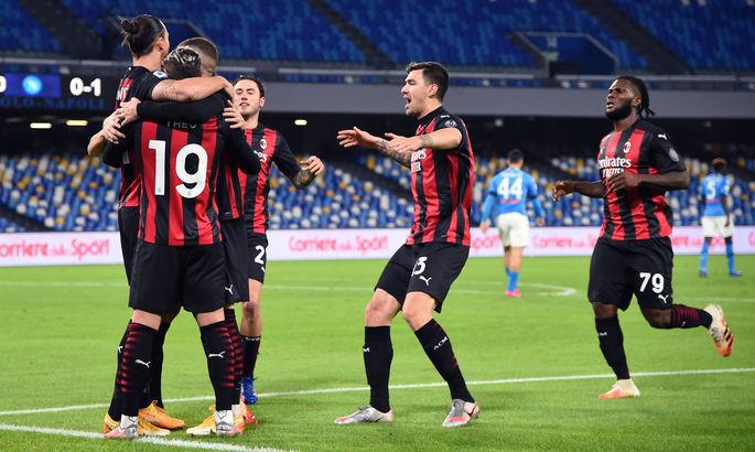 Златан, не останавливайся! Наполи - Милан 1:3. Видео голов и обзор матча