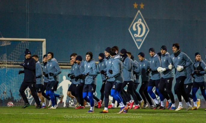 Гармаш, Боль, Скорко и еще 20 игроков Динамо готовятся к матчу с Барселоной