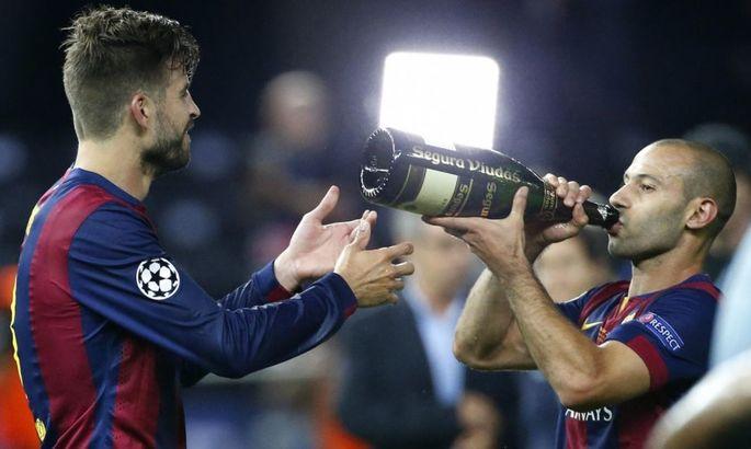 """""""Свистать всех наверх"""" по-каталонски: Барселона звала Маскерано на подмену Пике"""