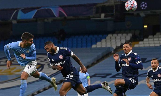 Олімпіакос – Манчестер Сіті: Анонс та прогноз матчу Ліги Чемпіонів