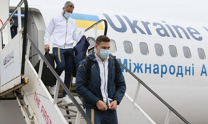УАФ показала, как сборная Украины придерживалась медпротокола УЕФА - ВИДЕО