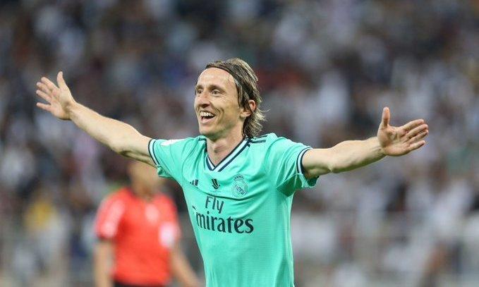 Модрич: Мне хорошо в Реале - мечтаю закончить карьеру здесь