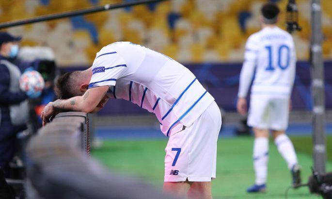 Динамо потерпело самое крупное поражение при Луческу, впервые пропустив 4 гола