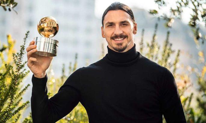 """""""Мне 39, но я хочу взять награду и в 50 лет"""". Ибрагимович признан игроком года в Швеции в 12-й раз"""