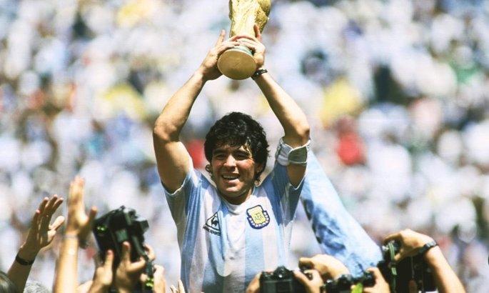 В память о легенде. В 1986-м году Марадона забил лучший гол ХХ века