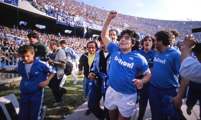 Домашний стадион Наполи может быть переименован в честь Диего Марадоны