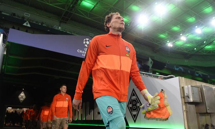 Пятов - худший игрок матча Боруссия М - Шахтер по версии WhoScored