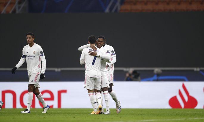 Команда Зидана выходит на второе место. Интер - Реал 0:2. Видео голов и обзор матча