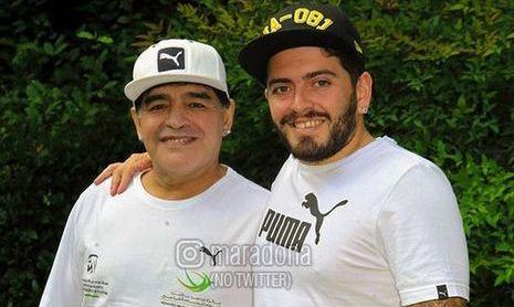 Сын Диего Марадоны попал в реанимацию