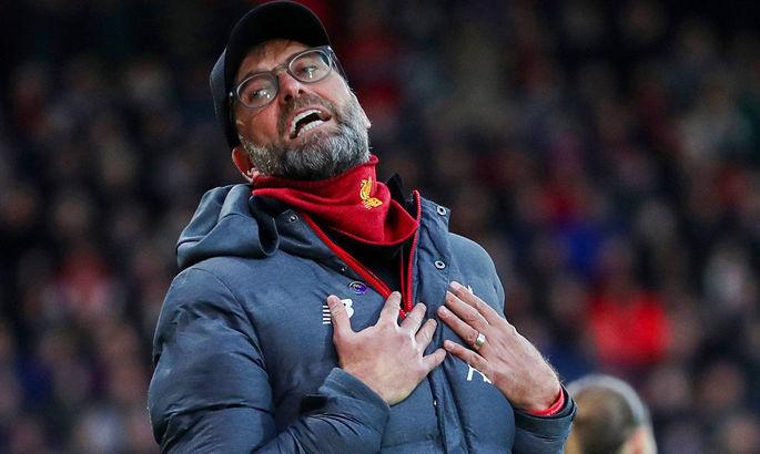 Клопп считает, что Ливерпуль заслужил поражение в поединке с Аталантой