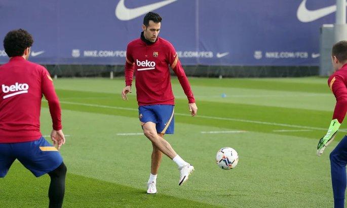 Ключевой полузащитник Барселоны вернулся в общую группу