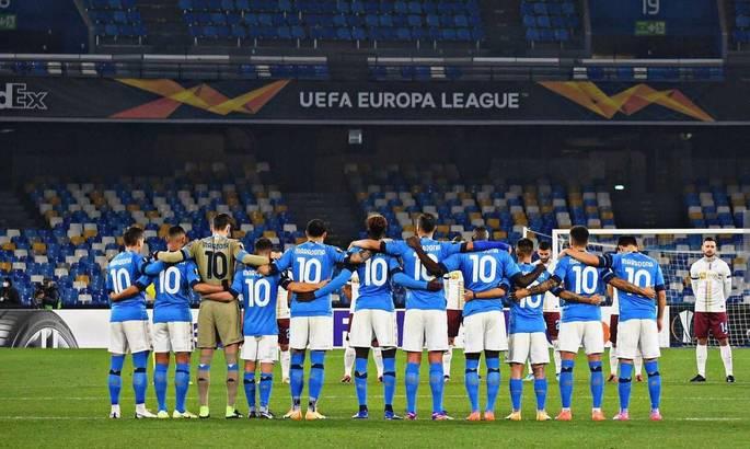 Победа памяти Марадоны. Наполи - Риека 2:0. Видео голов и обзор матча