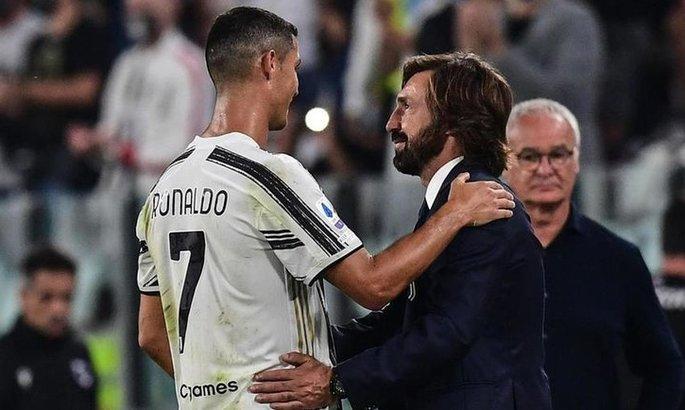 Пирло назвал причину, из-за которой Роналду пропустит матч Серии А