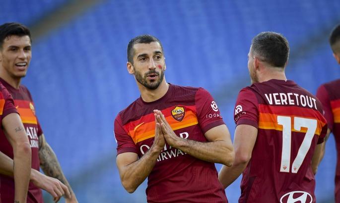 Рома продлит контракт с Мхитаряном еще на один сезон