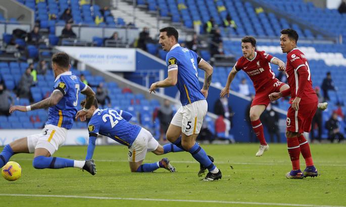 Брайтон - Ліверпуль 1:1. Драматичний матч з непередбачуваною розв'язкою