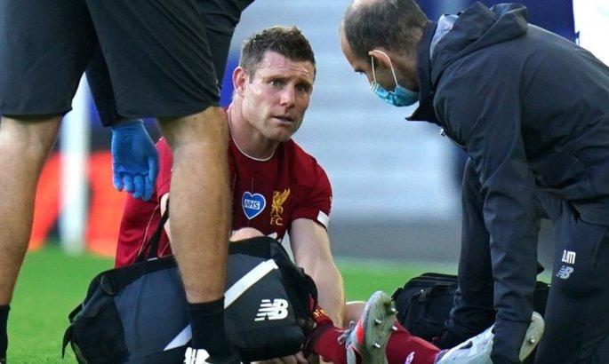 Мілнер пошкодив задню поверхню стегна в матчі з Брайтоном