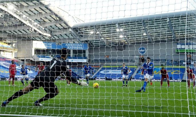 Брайтон - Ліверпуль 1:1. Драматичний матч з непередбачуваною розв'язкою - изображение 2