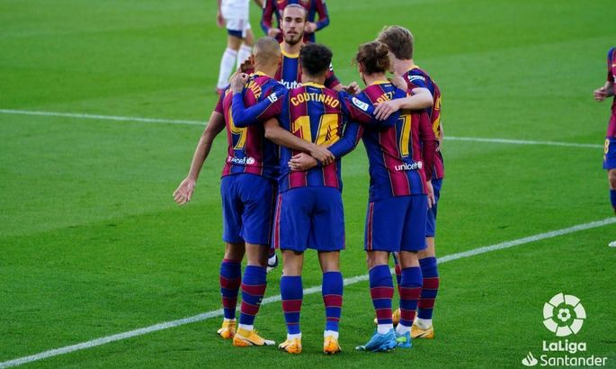 Примера. 11-й тур. Барселона - Осасуна 4:0. Эстетическая победа