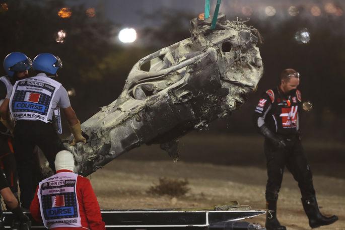 Формула-1. Гран-при Бахрейна прервано красными флагами из-за ужасной аварии - изображение 2