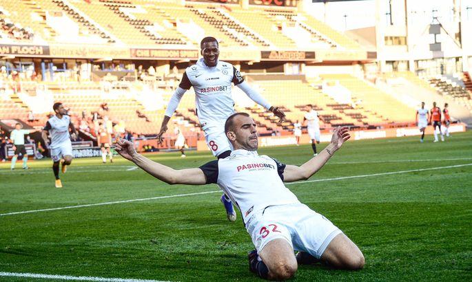 Лига 1. Монако и Монпелье не снижают темп, первая победа Дижона