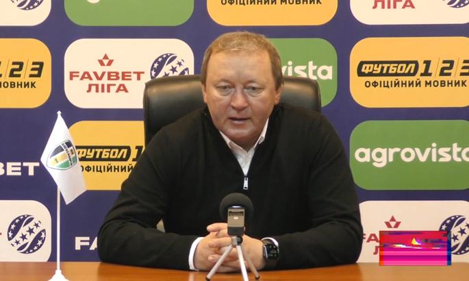 Тренер Шаран отметил, как изменилась игра Руха после паузы на матчи сборных