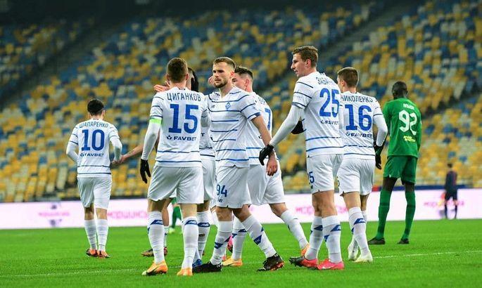 Цыганков, Нещерет, Гармаш, Вербич и Шапаренко претендуют на звание лучшего игрока Динамо в ноябре