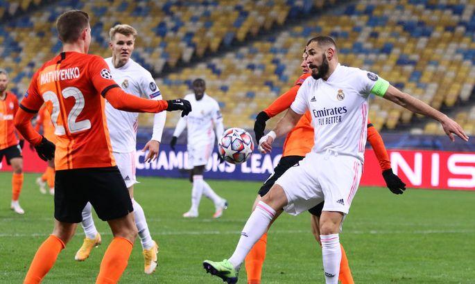 Киев видел и лучшую версию Реала, и ужасный матч. Испанские СМИ про игру Шахтер - Реал