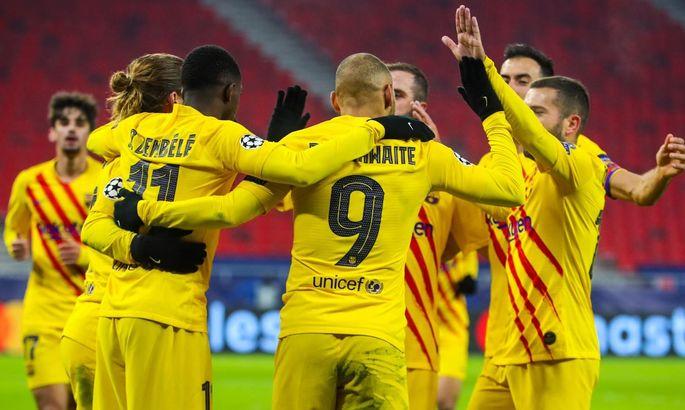 На второй тайм можно было не выходить. Ференцварош – Барселона 0:3. Обзор матча и видео голов