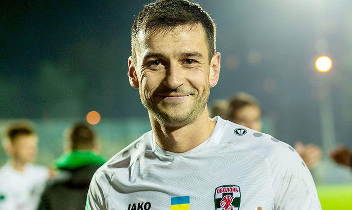 Гравець місяця в Першій лізі - №4 київської Оболоні