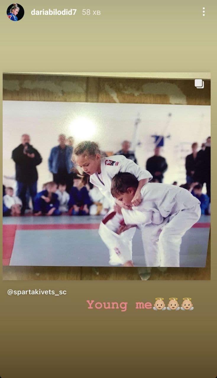 Юная спортсменка с чемпионским потенциалом: Дарья Билодид показала фото с детства - изображение 1
